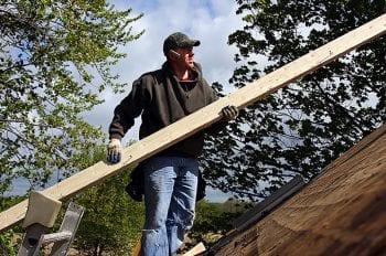 Repair roof decking