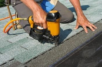 Roof repair asphalt shingles