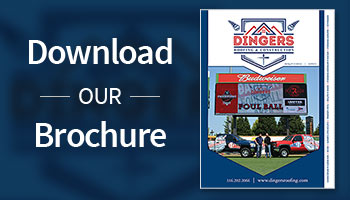 Dingers Roofing brochure