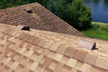 Roof shingles installation
