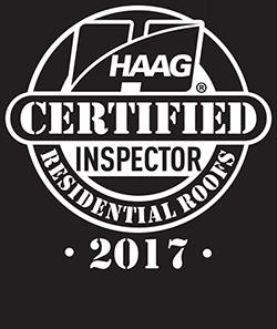 Beautiful HAAG Certified Roof Inspector