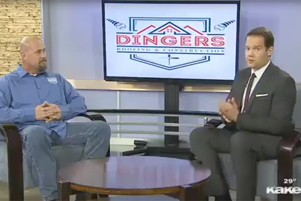 Dingers interview on KAKE TV