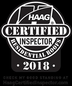 HAAG certified roof inspector