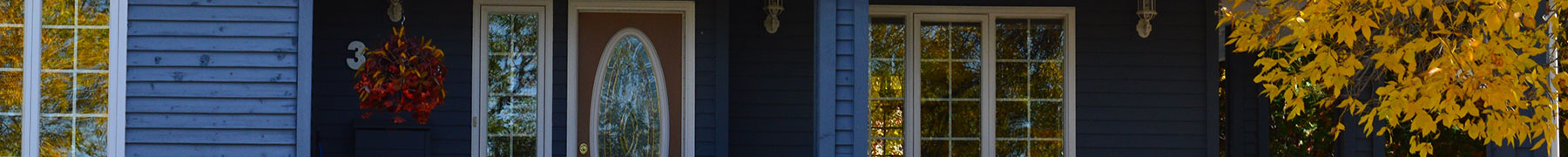 Fall Home Exterior